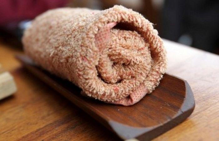 горячее-полотенц