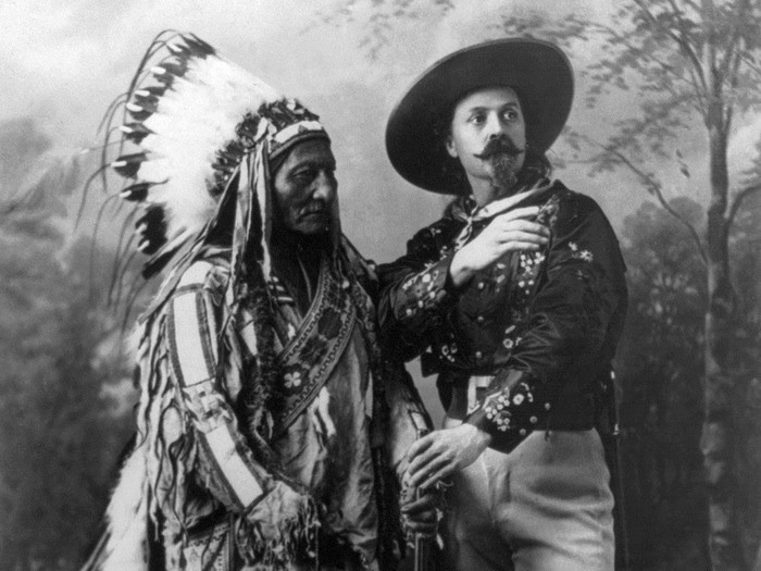 Buffalo Bill Cody And Chief Sitting Bull