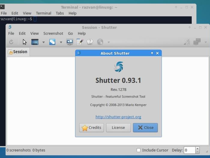 Установка Shutter на Linux